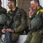 Nawaleni żołnierze NATO