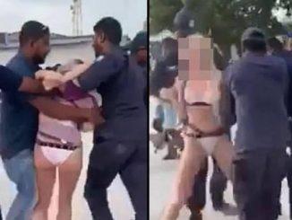 Turystka aresztowana