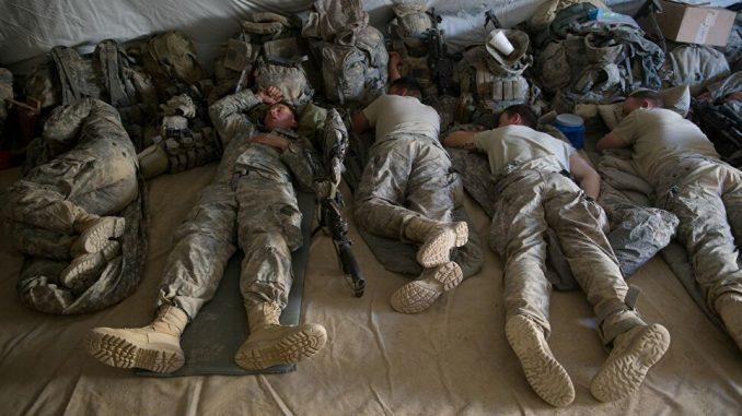 Amerykańska armia koronawirus