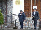 Koronawirus w Polsce.  Lech Wałęsa wybrał się do  kościoła. FOTO