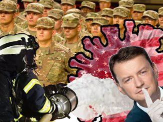 żołnierzy USA o zarażenie Polaków
