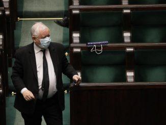 Wyciekł plan Kaczyńskiego