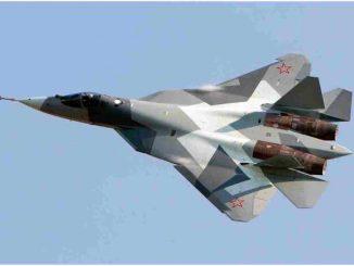 Rosyjski Su-57 Polska