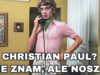 Agata Duda ocenia Christian Paul