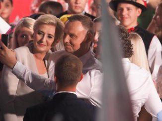 Agata Duda zareagowała na wynik męża