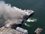 Eksplozja na amerykańskim okręcie. Ponad 20 rannych
