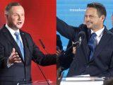 W tych miejscach odbędą  się wieczory wyborcze  Dudy i Trzaskowskiego