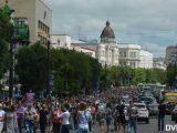 Rosja: wielki protest w Chabarowsku w związku aresztowaniem gubernatora [ VIDEO/ FOTO]