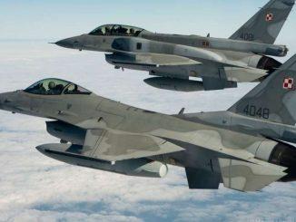 Polskie samoloty NATO wrogie