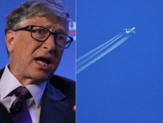 Bill Gates samolotami będzie rozpylał chemikalia w powietrzu