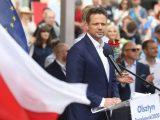 Trzaskowski oburzony zatrzymaniem aktywistów LGBT, którzy mieli sprofanować figurę Chrystusa