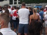 Protesty przed ambasadami Białorusi po ogłoszeniu sondażowych wyników wyborów prezydenckich