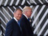 """Tusk naśmiewa się z Trumpa. """"Nie zdawaliśmy sobie sprawy"""""""
