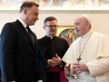 Andrzej Duda z wizytą u  papieża Franciszka
