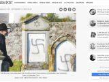 Jerusalem Post zmanipulowało artykuł o zdewastowaniu żydowskich grobów w Polsce wizualizując je zdjęciem z Francji