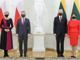 Prezydent Litwy wezwał Dudę do przestrzegania raw i wolności człowieka