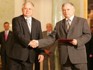 Ostatnia rozmowa braci Kaczyńskich