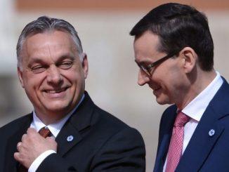 Polska i Węgry blokowanie budżetu UE
