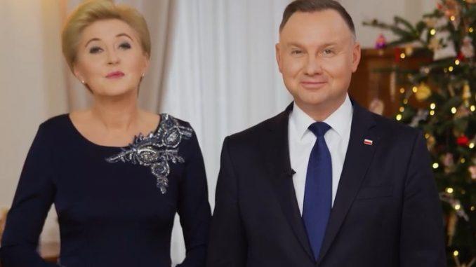 Para prezydencka złożyła życzenia bożonarodzeniowe