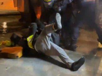 francuska policja jest najbrutalniejsza