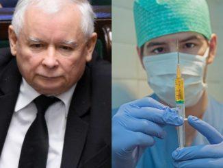 Kaczyński wyrzuci z rządu niezaszczepionych