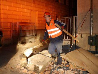 Akcja ratunkowa po trzęsieniu ziemi