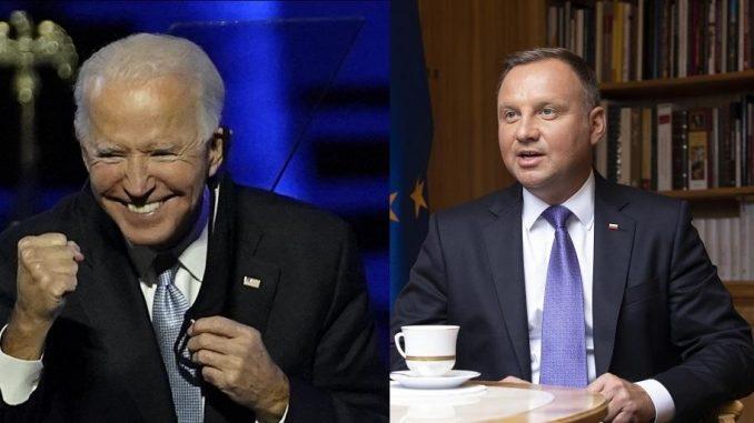 Prezydent Duda ma ułożyć relacje Polski z Joe Bidenem