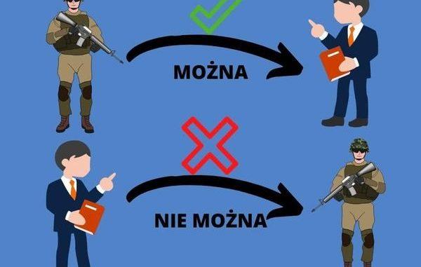 Interpelacja posła Szramka, czyli kto kogo wpuszcza w wojskowe maliny