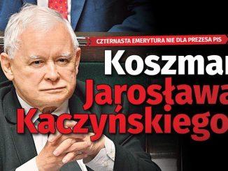 Kaczyński nie dostanie czternastej emerytury