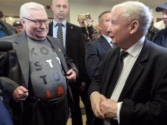 Wałęsa o Kaczyńskim