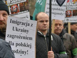 ukraińskich gastarbeiterów