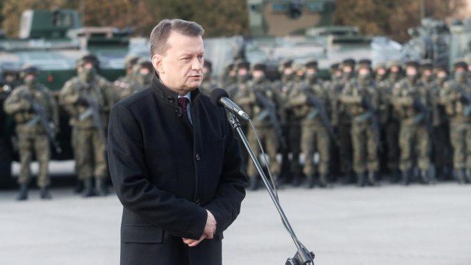 Błaszczak zarzuca nam atakowanie polskiej fabryki