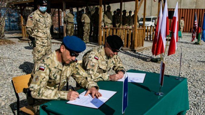 Pancerniacy ze Świętoszowa przejęli służbę w Afganistanie