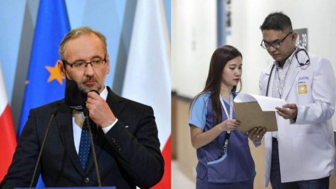 Rząd PiS ściąga lekarzy z zagranicy