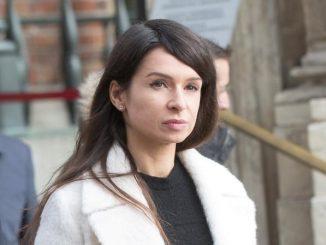 Marta Kaczyńska przyłapana w pracy
