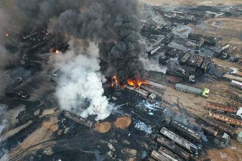 Syria zniszczyła okupowane przez USA rafinerie