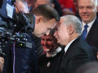 o relacjach Dudy z Kaczyńskim
