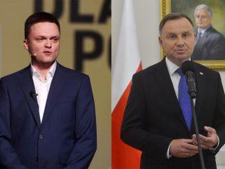 szczepienie Szymona Hołowni