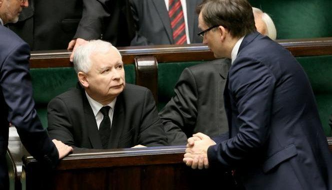 Kaczyński znów straszy koalicjantów