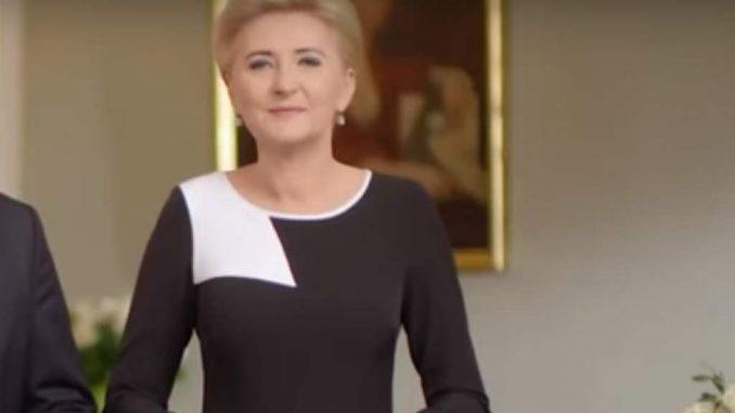 Agata Duda pojawiła się z mężem na specjalnym nagraniu