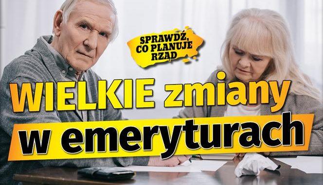 Rewolucja w emeryturach