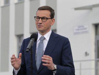 Morawiecki ma poprosić premiera Czech