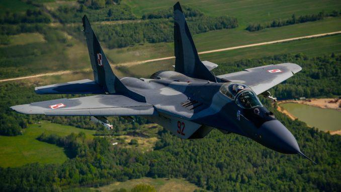 Polski MiG-29 ostrzelał polskiego MiG-a