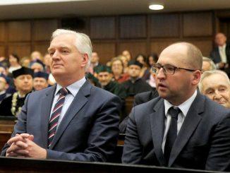 Kaczyński wyrzuci Gowina