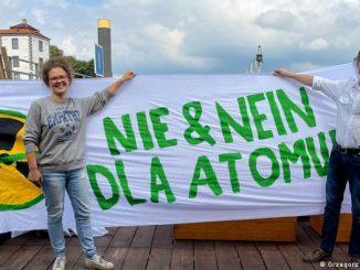 Polscy i niemieccy Zieloni przeciwko energii atomowej w Polsce