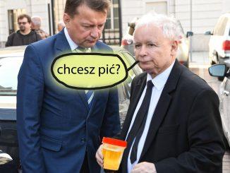Wpadka na konferencji Kaczyńskiego i Błaszczaka! Wszyscy to widzieli