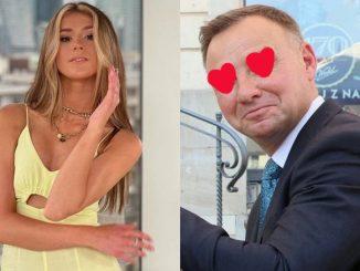 Na zdjęcia zareagował też Andrzej Duda