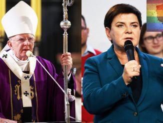 Arcybiskup i była premier przekonują radnych, żeby nie odrzucali uchwały anty-LGBT