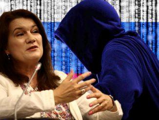"""Dziennikarz szwedzkiej gazety """"Ttela"""" Rune Lanestrand zarzucił minister spraw zagranicznych i obecnej przewodniczącej OBWE Ann Linde, że ta niechcący wydała tajemnicę państwową dwóm rosyjskim pranksterom"""