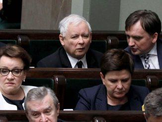 Kaczyński z najgorszą oceną, tuż za nim Czarnek i Ziobro